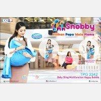 Gendongan Bayi Samping Multifungsi Happy Bubble Series Snobby TPG2242 - Blue