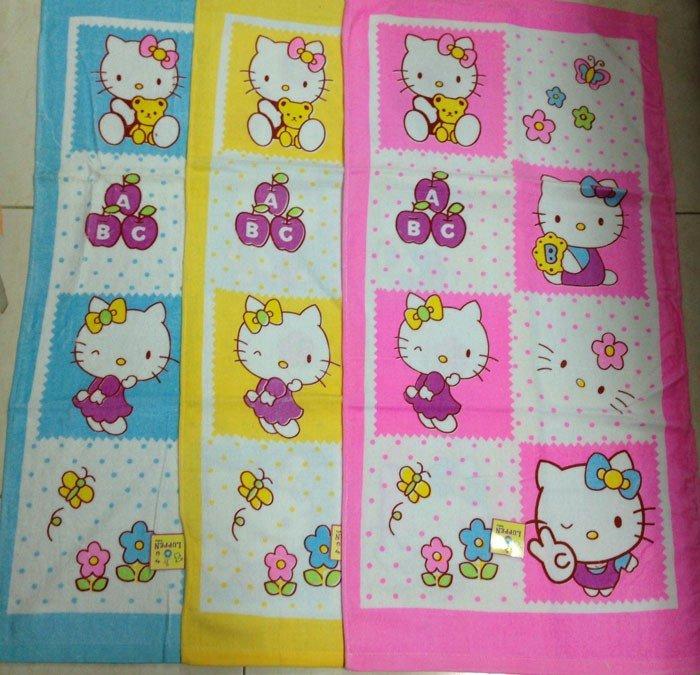 Handuk Baby Luppen Hello Kitty