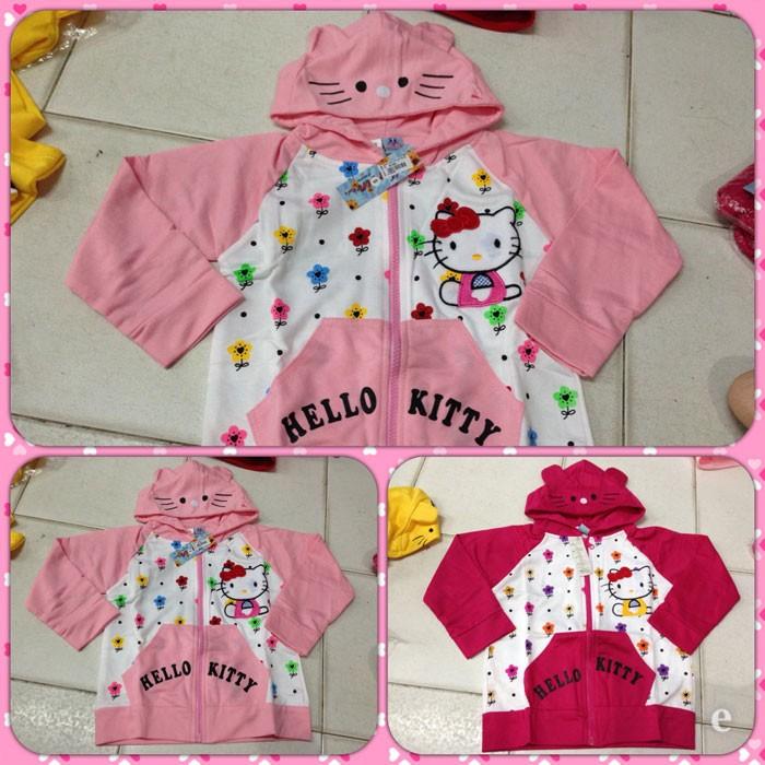 Jaket Hello Kitty Bunga M/L