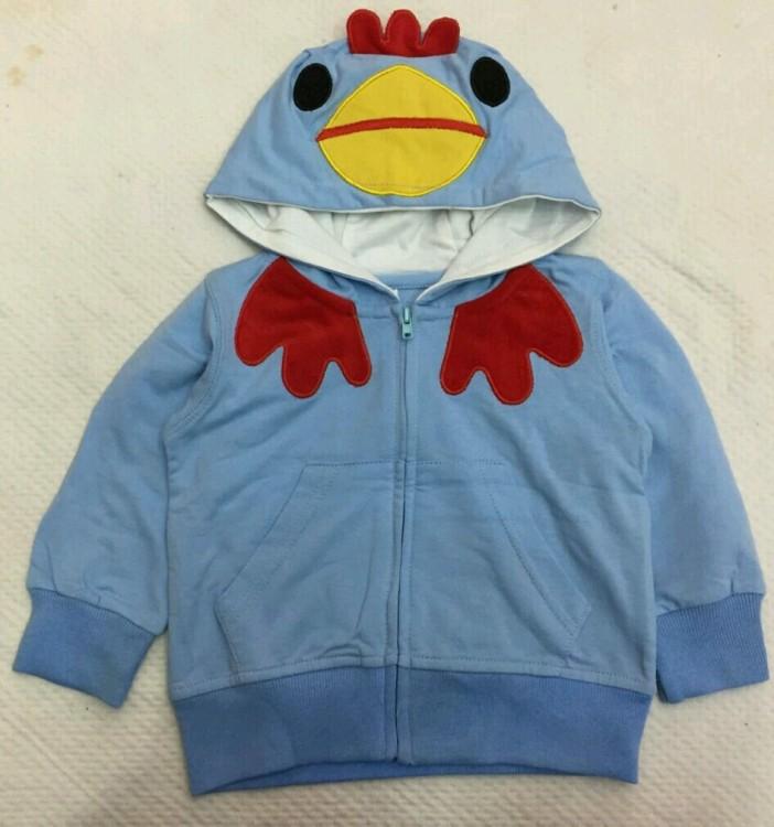 Jaket Import Biru Bird 18070040