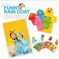 Jas Hujan (Funny Rain Coat) - Pink