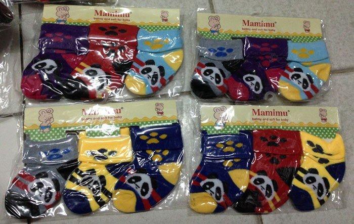 Kaos Kaki Pingoo 3 in 1 Panda