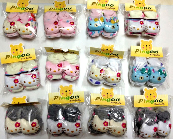 Kaos Kaki Sepatu Pingoo Boneka Hello Kitty