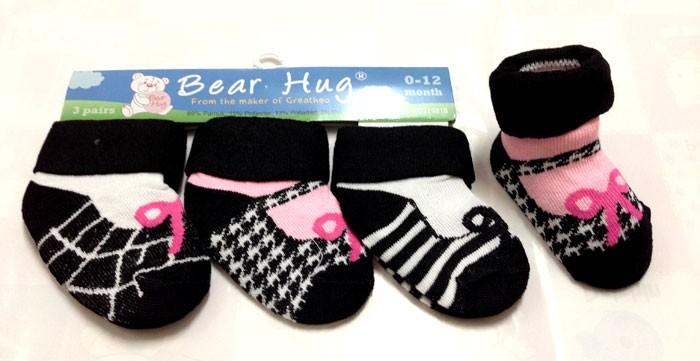 Kaos Kaki 3 In 1 Bear Hug Tali 16060163