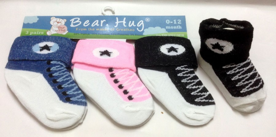 Kaos Kaki 3 In 1 Bear Hug Tali 16060164