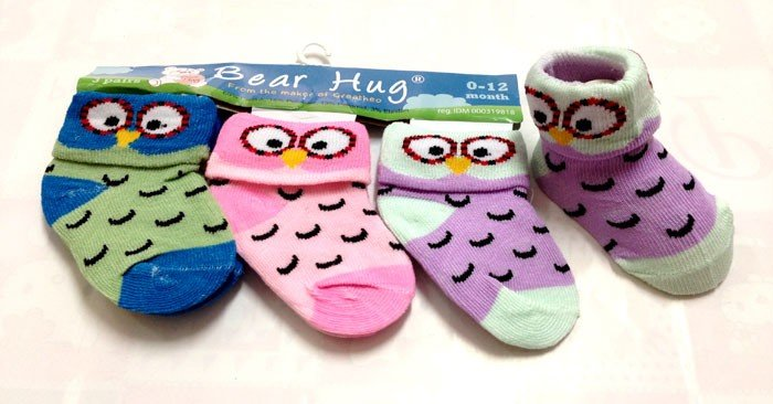 Kaos Kaki 3 In 1 Bear Hug Owl 16060165
