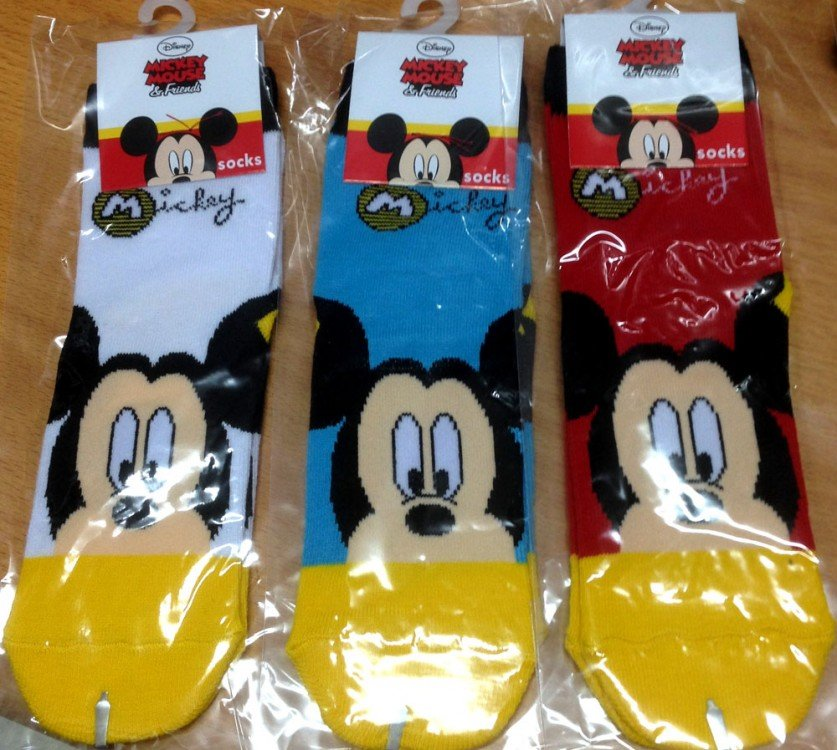 Kaos Kaki Disney Mickey Mouse
