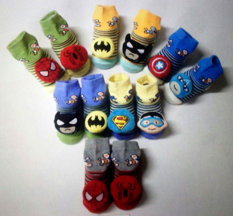 Kaos Kaki Boneka Super Hero 18090057