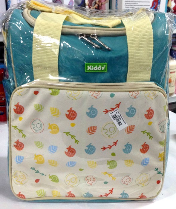 Kiddy Tas Kombinasi Motif Animals Biru