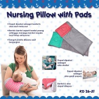 Bantal Multifungsi Kiddy (Nursing Pillow with Pads)
