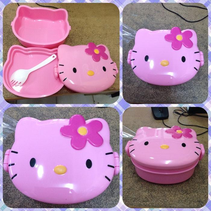 Kotak Makan Kepala Hello Kitty Kecil