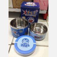 Kotak Makan Stainless Doraemon 2 Susun (B)