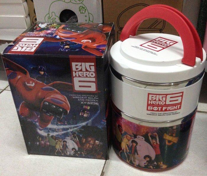 Kotak Makan Stainless Big Hero 2 Susun (B)