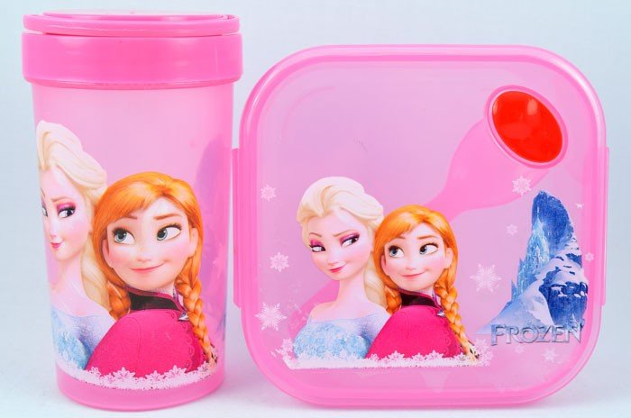Kotak Makan Set Kotak Frozen
