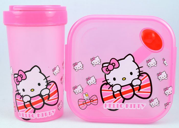 Kotak Makan Set Kotak Hello Kitty