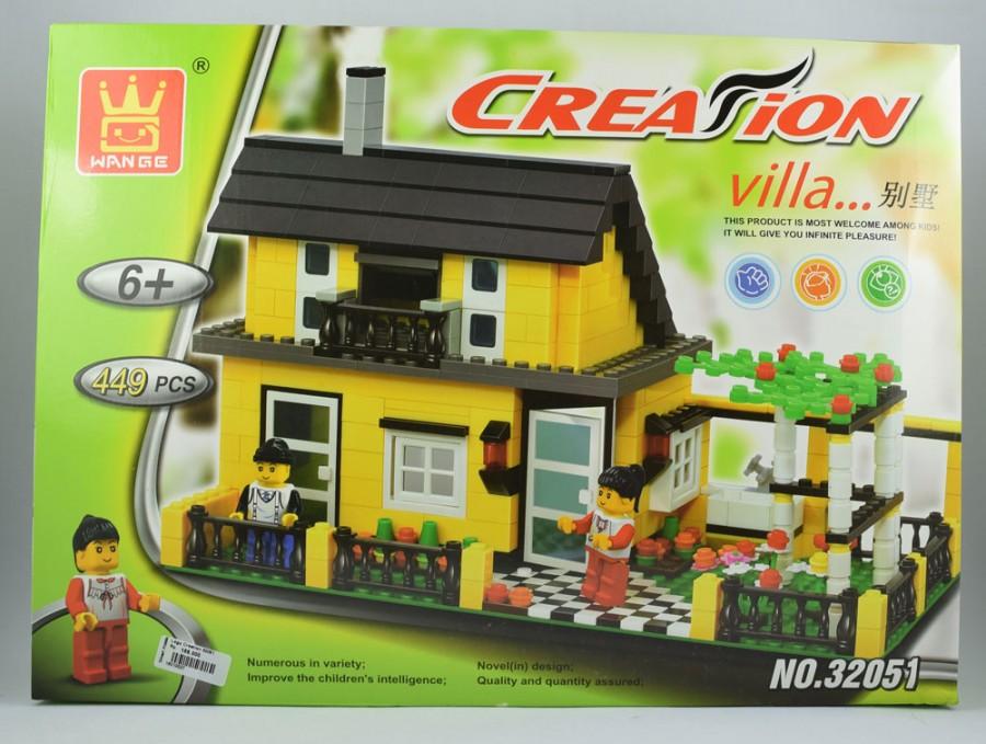 Lego 32051 Creation Villa (449pcs)