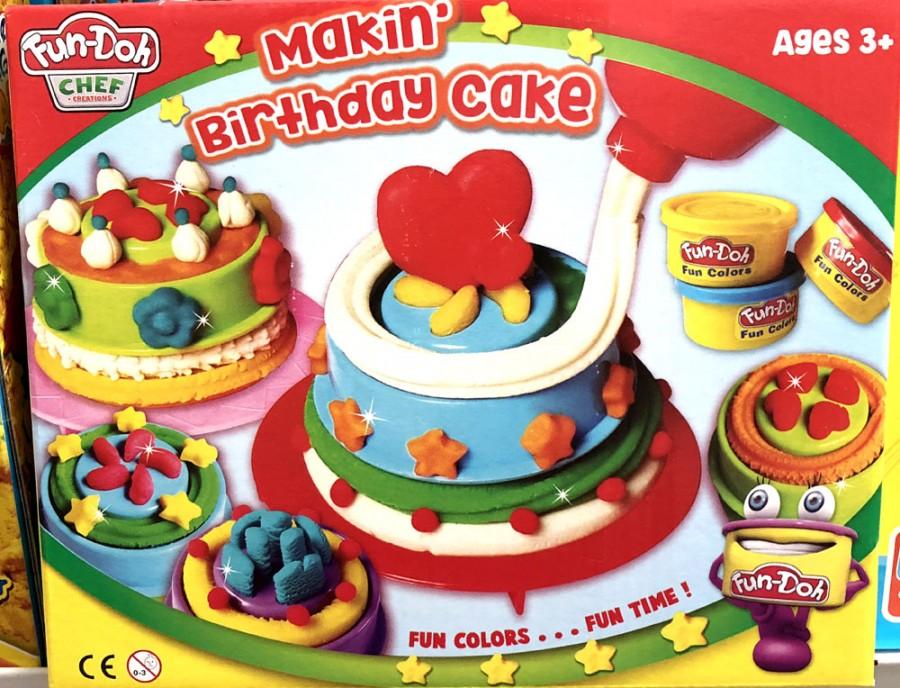 Wondrous Jual Fun Doh Making Birthday Cake Produk Smart Kiddo Personalised Birthday Cards Sponlily Jamesorg