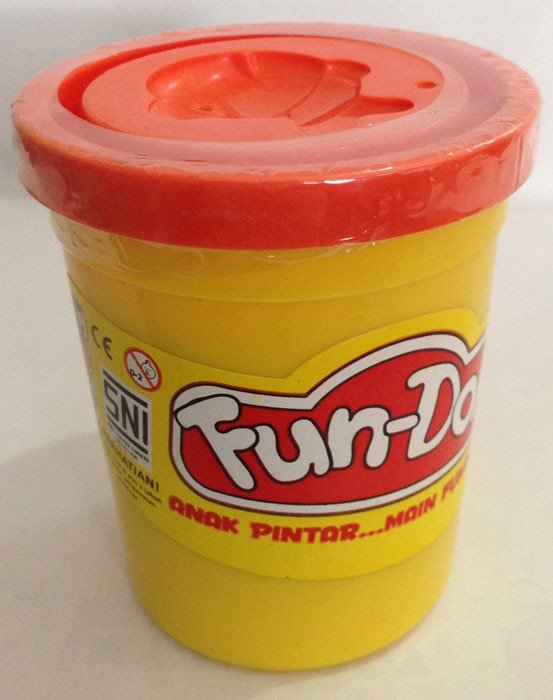 Fun Doh Compound 250gr Orange