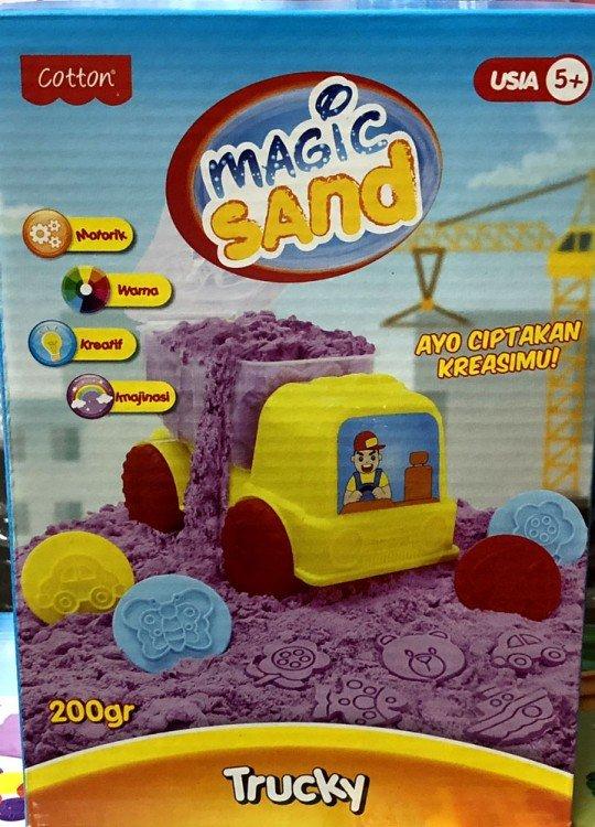 Fun Doh Magic Sand Trucky