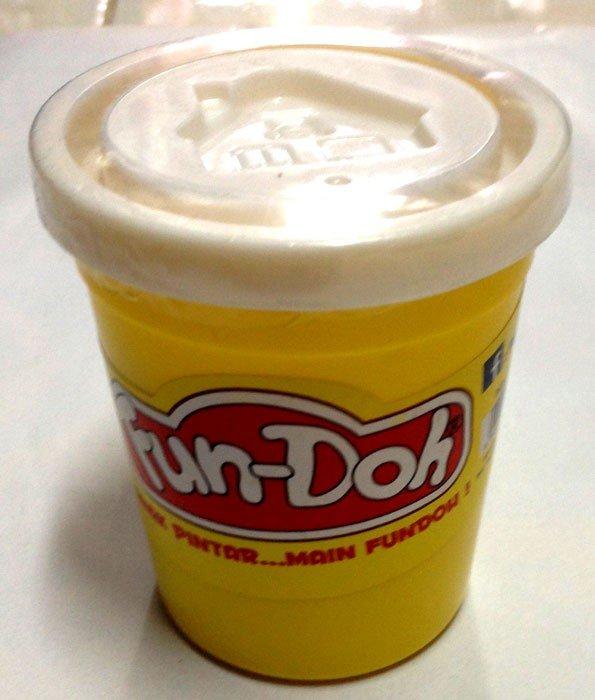 Fun Doh Compound 250gr White