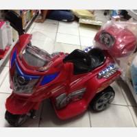 Motor Aki Sport Tornado Merah