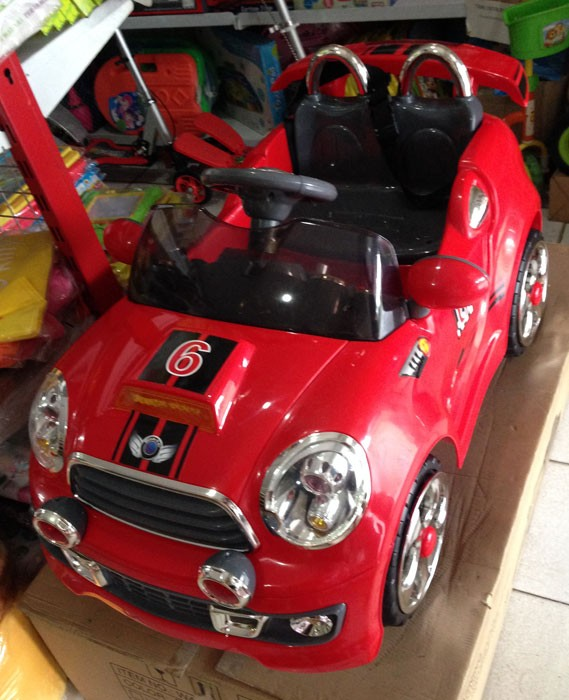 Mobil Aki Mini Cooper TR-1207 (Red)