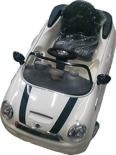 Mobil Aki Mini Cooper (White)