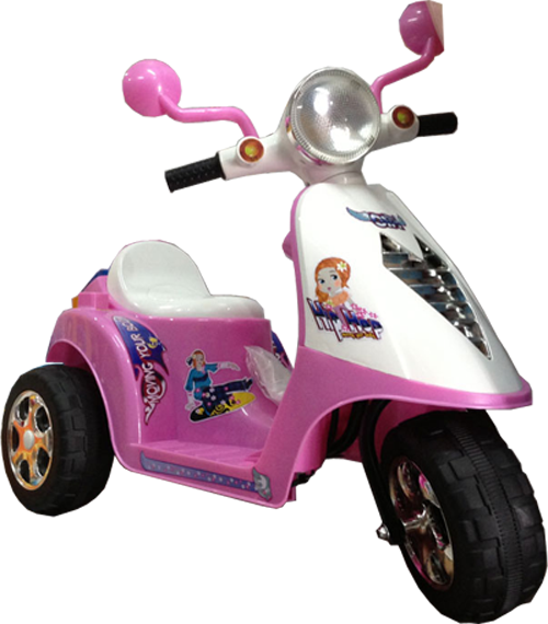 Motor Aki Pespa Pink