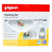 Pigeon Feeding Set with Juice Feeder