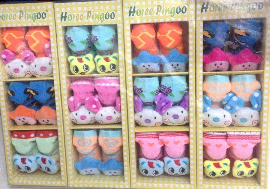 Kaos Kaki Pingoo 3 in 1 Boneka (Girl) 16050046