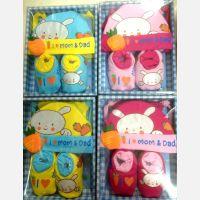 Topi + Sepatu Set Mamimu Rabbit 17080143