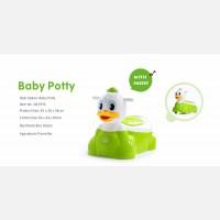 Baby Potty Duck QCBaby Biru