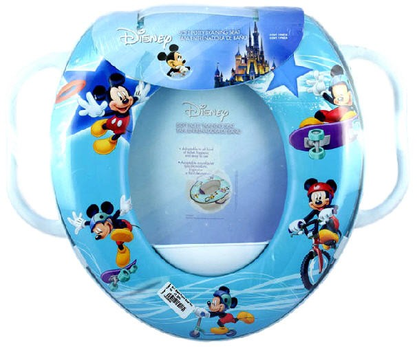 Soft Baby Potty Seat Mickey (Pegangan)