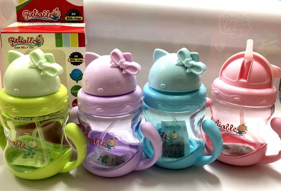Botol Minum Sedotan Hello Kitty 18070048