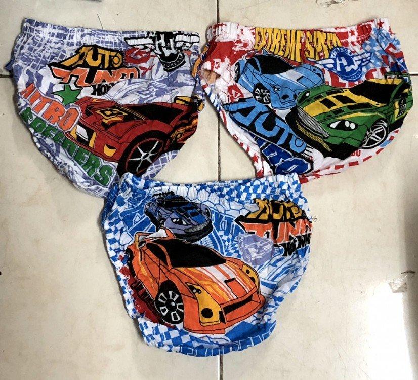 Celana Dalam Anak Ridges Hot Wheels M
