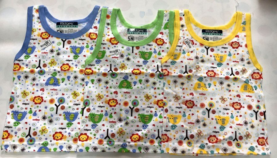 Singlet Ridges Animal Friends M 18100035