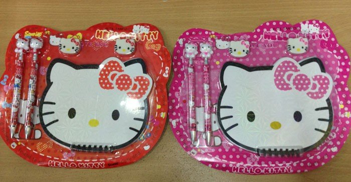 Stationery Set Hello Kitty 5588