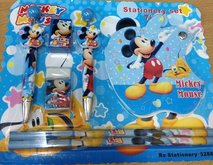 Stationery Set Mickey