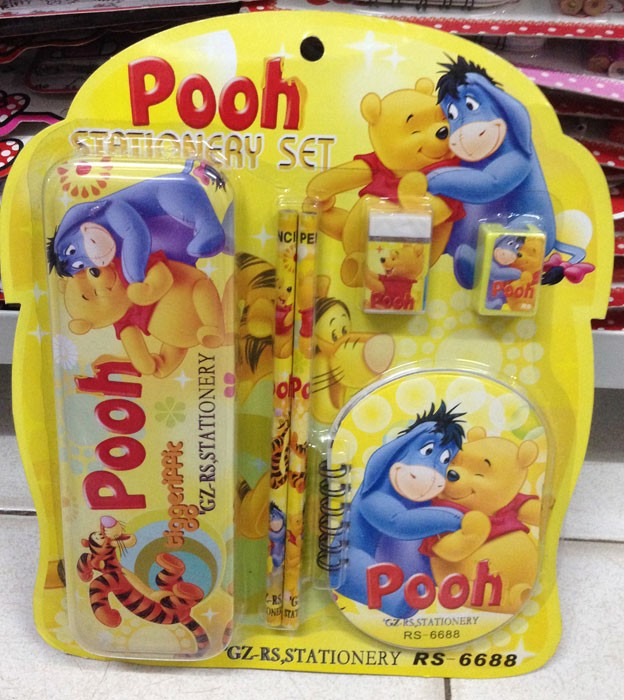 Stationery Pooh 6688