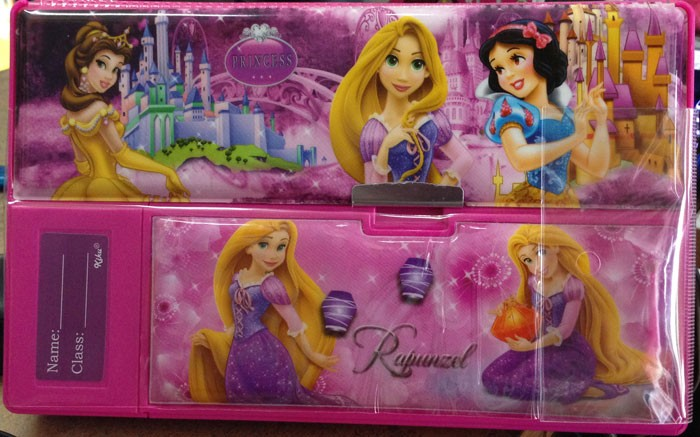 Kotak Pensil Jumbo Princess