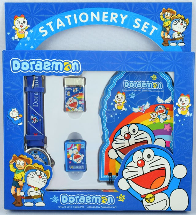 Stationery Set Jam Tangan Doraemon