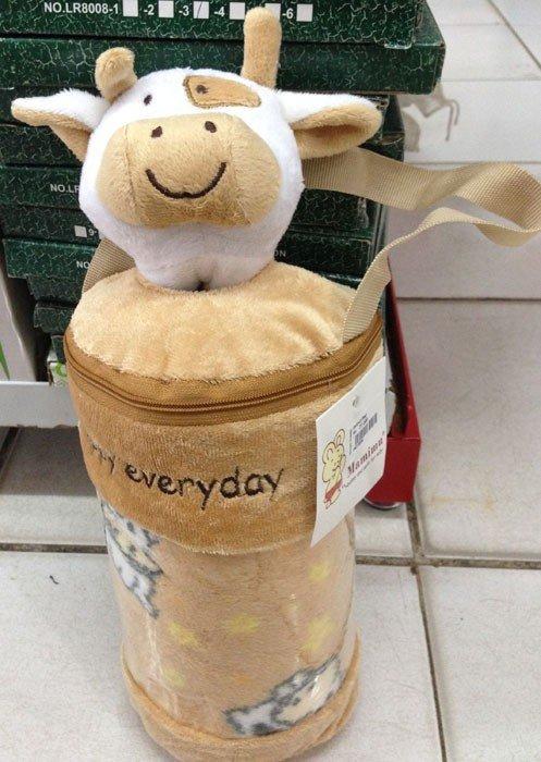 Selimut Bayi Mamimu Sapi / Cow