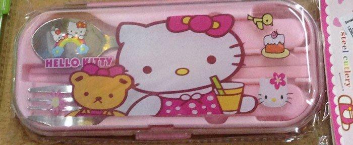 Sendok Set Hello Kitty