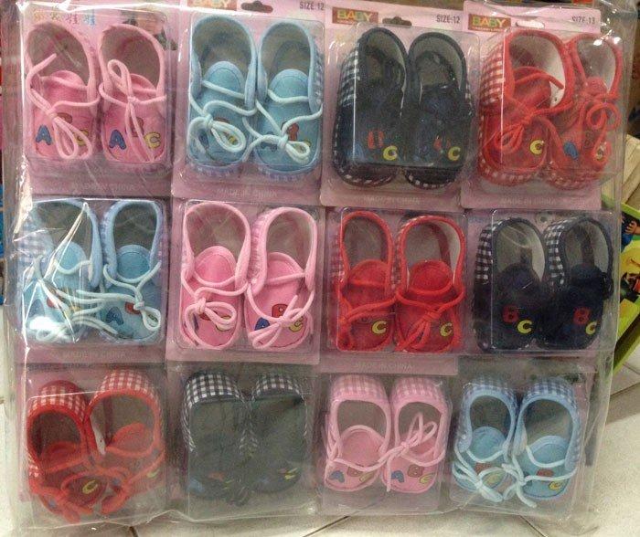 Sepatu Baby Tali 15100041