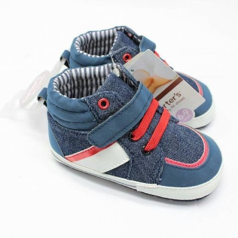 Sepatu Baby Prewalker Carter Biru 16050137