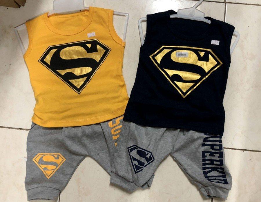 Setelan Cowok Singlet Superman 18070009