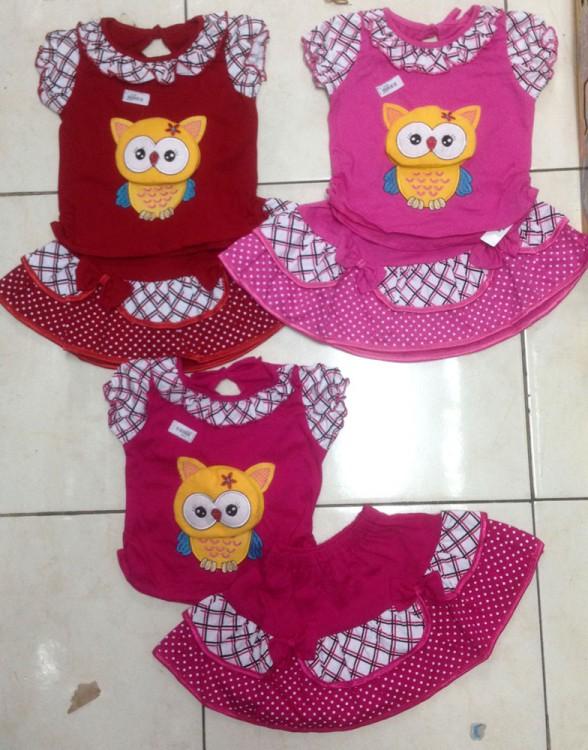 Setelan Cewek Owl 18010147
