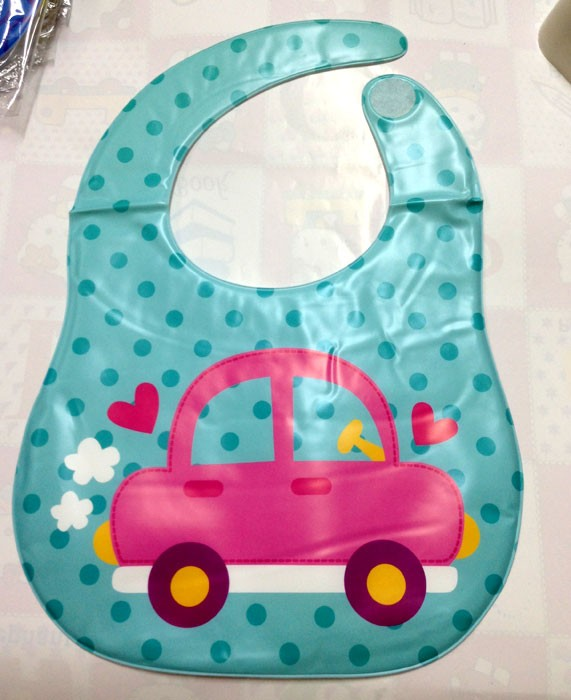 Slaber Baby Grow Mobil Pink