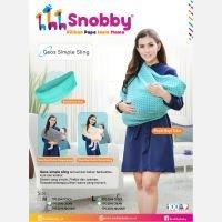Snobby Gendongan Kaos (Geos) Simple Sling M Gray