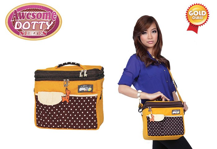 TPT1473 Snobby Tas Bayi Penahan Suhu (Cooler Bag) Awesome Dolty (Gold)